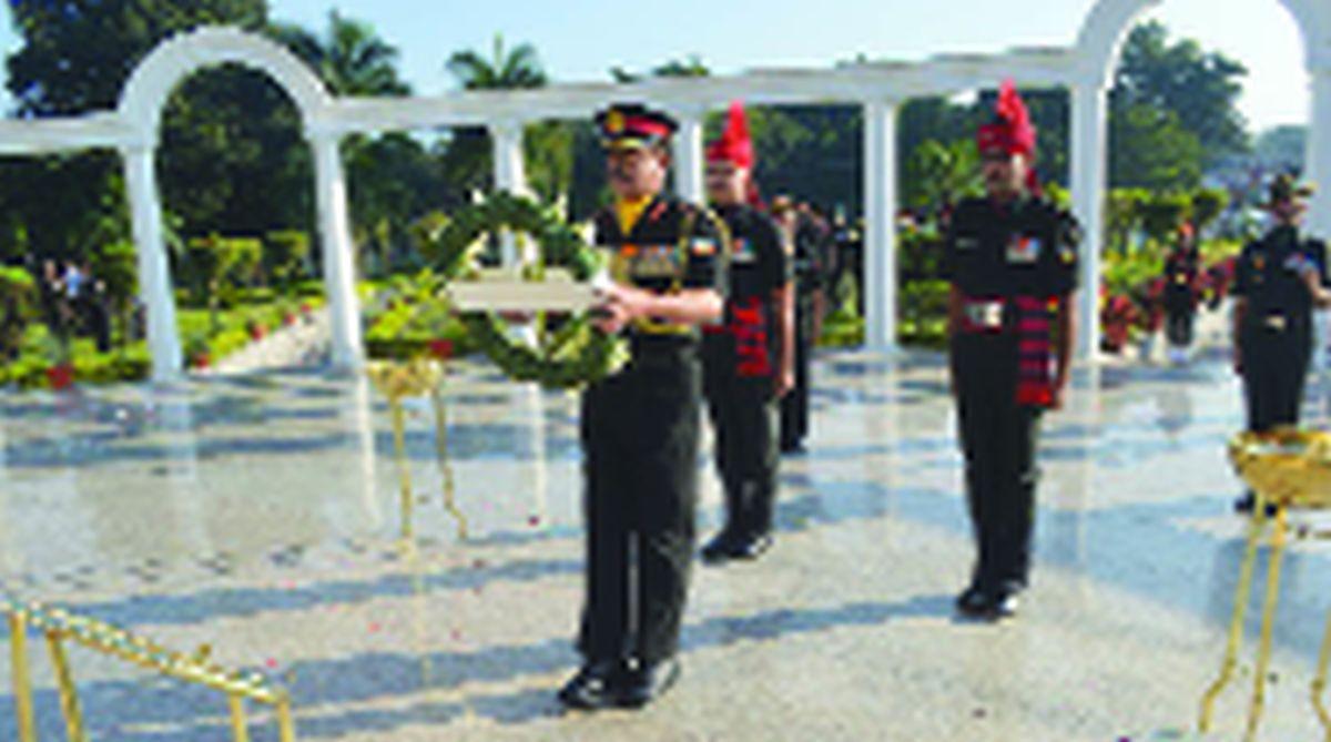 Indian Military Academy, 86th Raising Day, Lt Gen S K Jha,IMA War Memorial