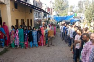 First in 13 years, voting for civic polls begins in J-K amid tight security
