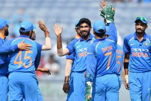 Bumrah returns four-wicket haul on comeback but West Indies post 283/9 in 3rd ODI