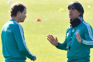 Germany boss Joachim Loew under pressure for Dutch, French tests