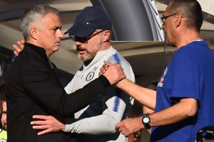 Jose Mourinho accepts apology from Chelsea coach over touchline row