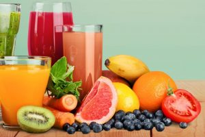 Quench your thirst with vitamin boosting juices every morning