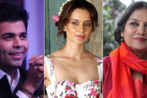 Kangana Ranaut slams Karan Johar, Shabana Azmi for 'silence' on #MeToo