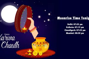 Karva Chauth 2018 moonrise time: See when will the moon rise in different cities tonight