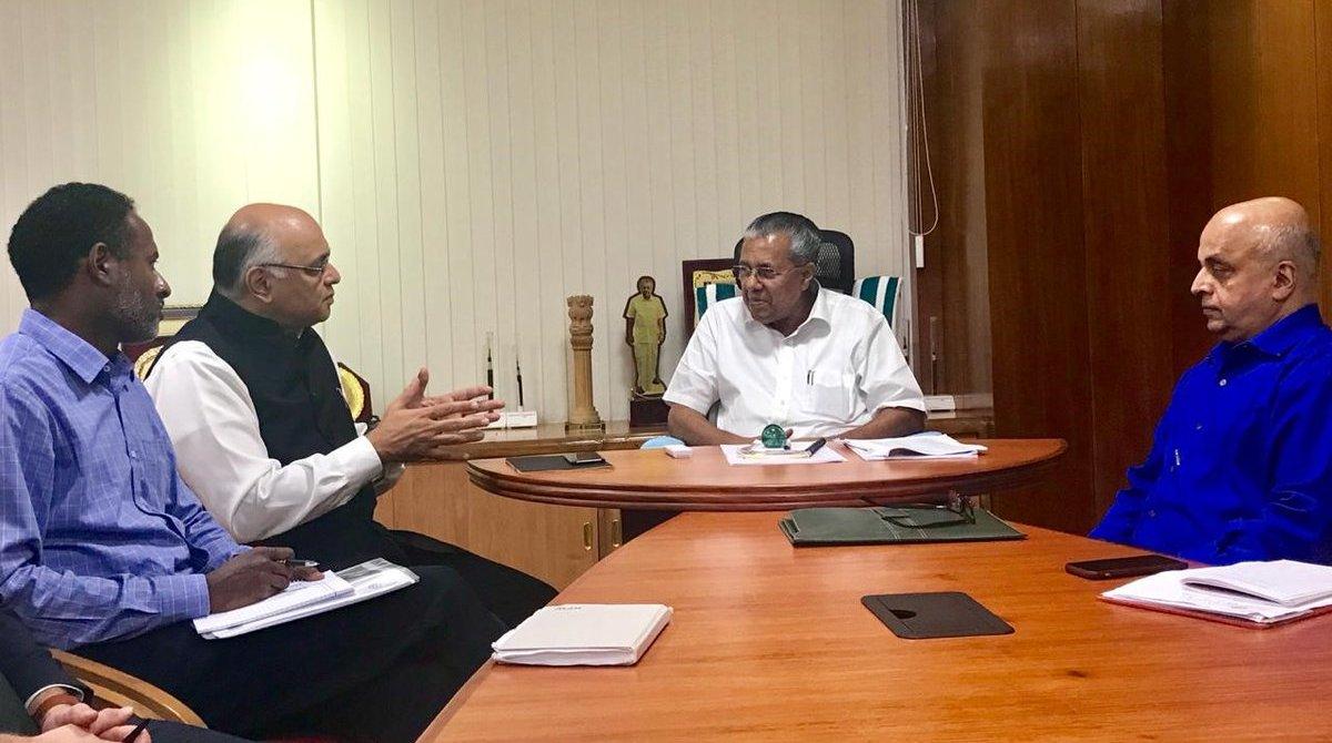 World Bank, Commitment, Rebuilding, Kerala, Pinarayi Vijayan