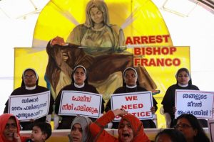 Nuns who called for Bishop Franco's arrest, heckled at Father Kuriakose's funeral