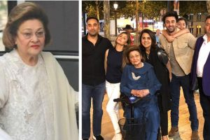 Krishna Raj Kapoor passes away; condolences pour in for Kapoor clan