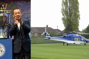 Leicester City owner's helicopter crashes leaving stadium after match