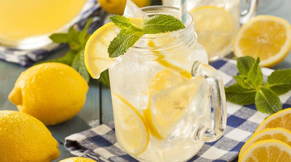 Lemon-honey water