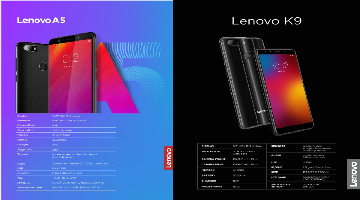 Lenovo launches two smartphones in association with Flipkart