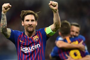 Monstrous' Messi scores 400th La Liga goal, sends Barca five points clear