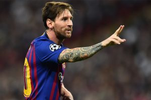 Messi named best La Liga player in September