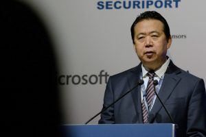 China confirms detaining former Interpol chief Meng Hongwei