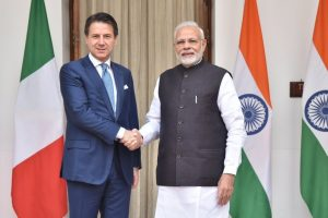 India, Italy condemn cross-border terrorism | Agree to expand defence ties