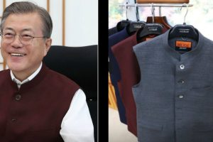 South Korean President Moon thanks PM Modi for sending him 'Modi jackets'