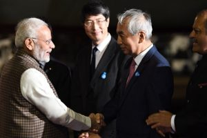 PM Modi lands in Tokyo for 13th India-Japan Annual Summit