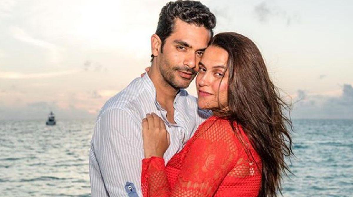 Neha Dhupia, Angad Bedi, Love Story