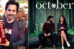 Varun Dhawan gets the best actor award for October