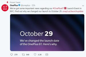 Apple event on October 30, OnePlus 6T global launch date advanced