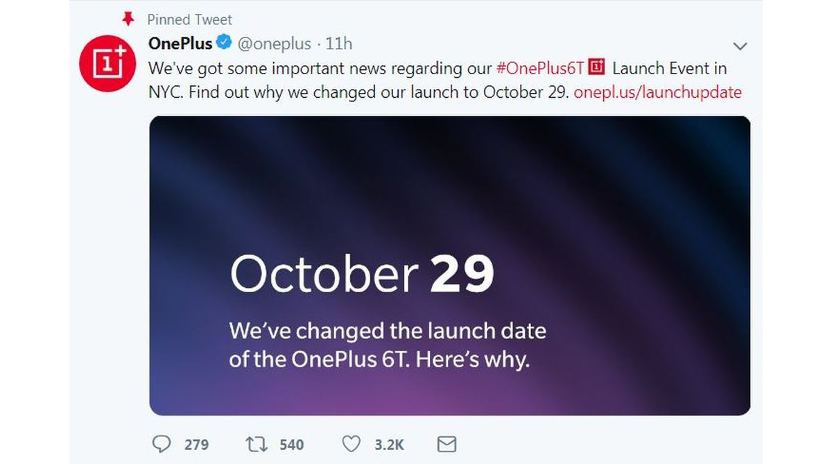 OnePlus 6T global launch, OnePlus 6T launch, Apple event, OnePlus 6T India launch