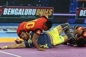 PKL: Bengaluru Bulls hand Tamil Thalaivas third defeat on the trot in lopsided contest
