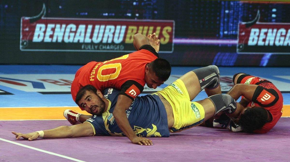 PKL season 6, Bengaluru Bulls, Tamil Thalaivas, Thalaivas third defeat