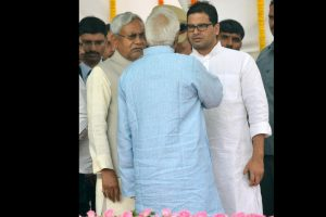 Bihar: CM Nitish appoints Prashant Kishor as JD-U Vice President