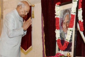 President Kovind, PM Modi pay tributes to Dr APJ Abdul Kalam on birth anniversary