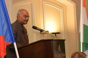 PM Modi, former President Mukherjee wish President Kovind on birthday