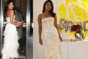 Wedding bells ringing! Priyanka Chopra decked up for bridal shower in New York