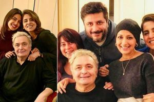 Priyanka Chopra, Sonali Bendre spend evening with Rishi Kapoor-Neetu Singh in New York