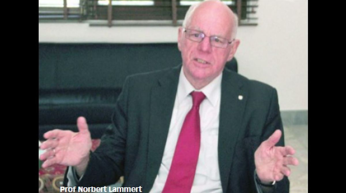 Prof Norbert Lammert, India, UN Security Council, German Parliament, Indo-German relations