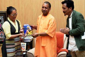 Tibetan parliamentarians seek support from Yogi Adityanath