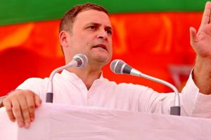 Rahul Gandhi pays tribute to Sardar Patel, takes jibe at BJP