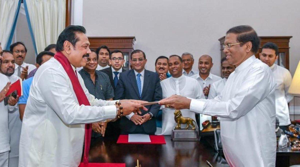 Mahinda Rajapaksa, Sri Lanka, Interim govt, Human rights