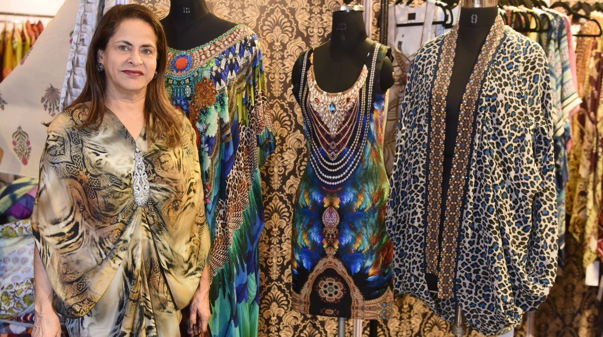 Glimpses from pre-Diwali Runway Rising exhibition