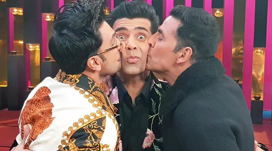 Ranveer Singh, Karan Johar, Akshay Kumar