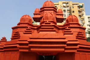 Eco-friendly touch to Durga Puja at Vaishali