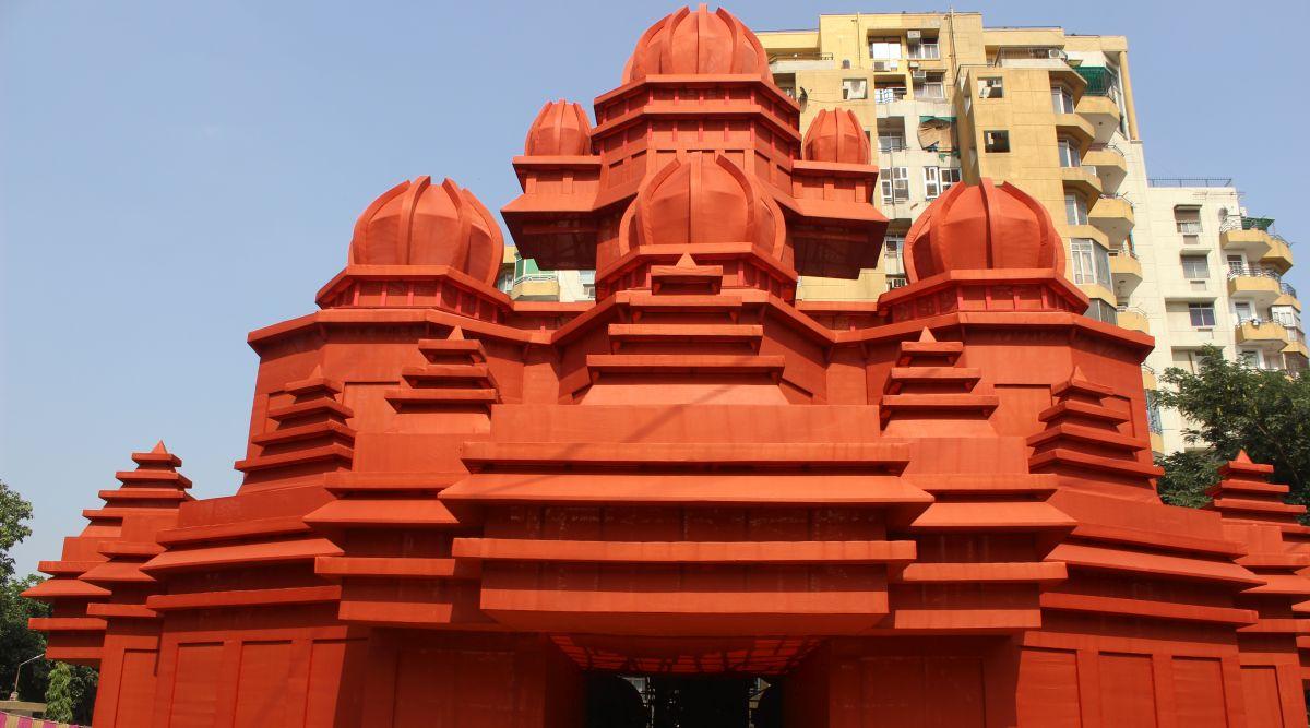 Replica of Belur Math Temple