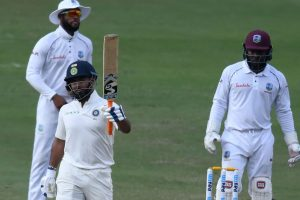 2nd Test: India bowled out at 367 runs, lead by 56 runs vs West Indies