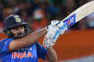 India vs West Indies, 4th ODI: Rohit Sharma, Ambati Rayudu tons power India to 377/5