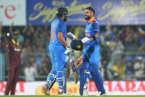 Virat Kohli, Rohit Sharma pummel West Indies with centuries in first ODI