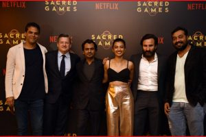 Netflix to continue working with Kashyap, Motwane, Grover for Sacred Games 2