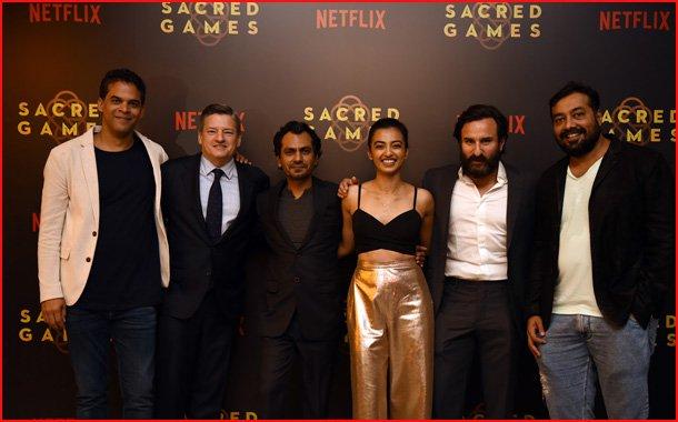 Sacred Games 2, Netflix, Anurag Kashyap, Vikramaditya Motwane, Radhika Apte, Saif Ali Khan and Nawazuddin Siddiqui