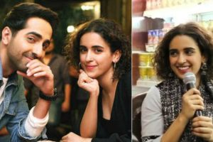 Badhaai Ho: Sanya Malhotra tries her hand at singing with Ayushmann Khurrana