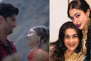 Sara Ali Khan's mother Amrita Singh elated after watching Kedarnath teaser