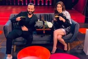 Sara Ali Khan debut on Koffee with Karan with dad Saif Ali Khan