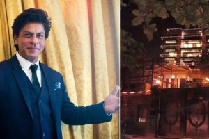 Shah Rukh Khan's abode Mannat all decked up ahead of his birthday