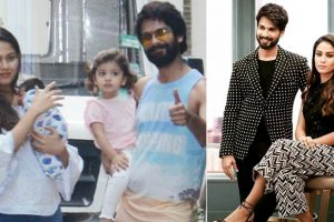 Midweek blues? Shahid Kapoor's daughter Misha peeping over brother Zain's crib will drive it away