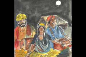 Shanno Bai and Durga puja of Chawri Bazar